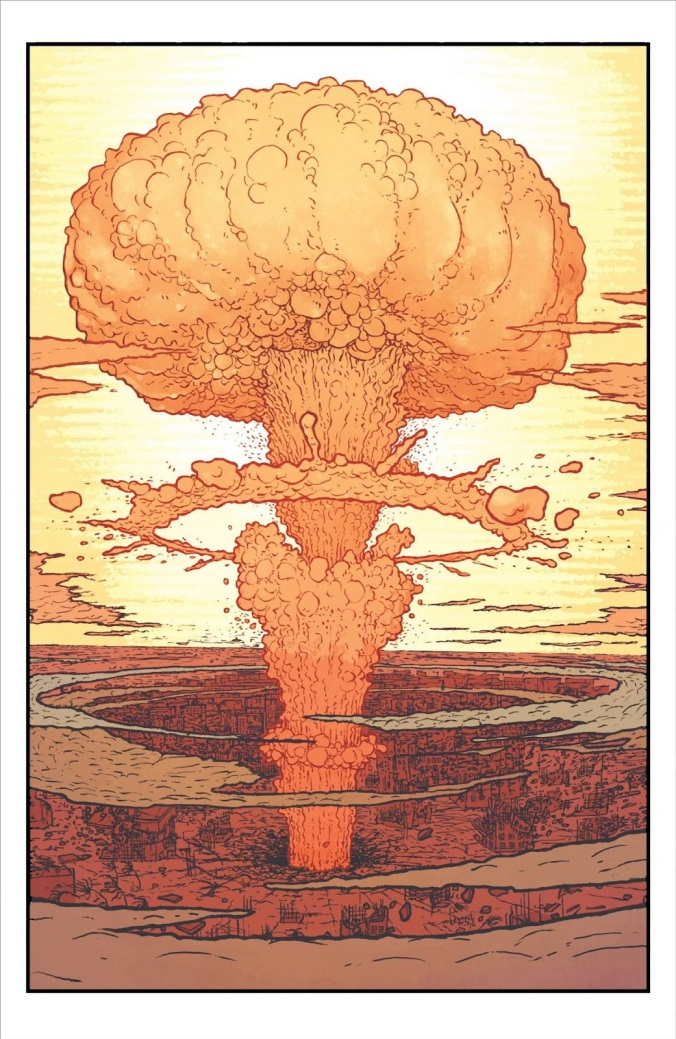 Hiroshima never seemed so straightforward and amazing before The MANHATTAN PROJECTS delivers in a WiLey Coyoted visceral thrill with every page Image Comics prints