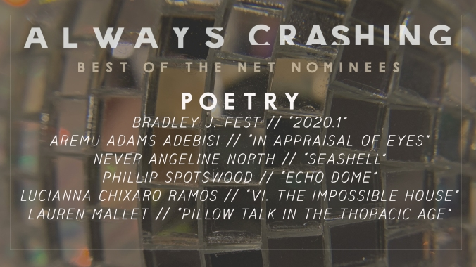 Best of the Net Nomination 2021 for 2020-01